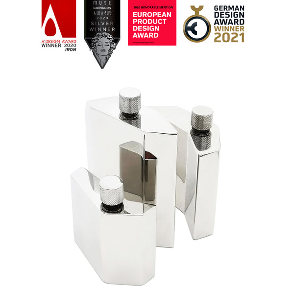 Fragment Flasks, received Prizes from International Design Awards
