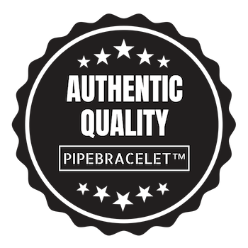 pipe bracelet authentic quality badge