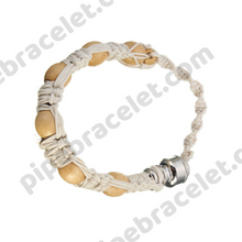 Load image into Gallery viewer, White Pipe Bracelet
