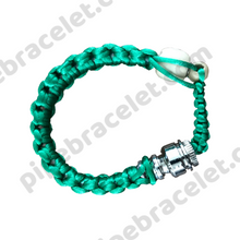 Load image into Gallery viewer, Green Pipe Bracelet