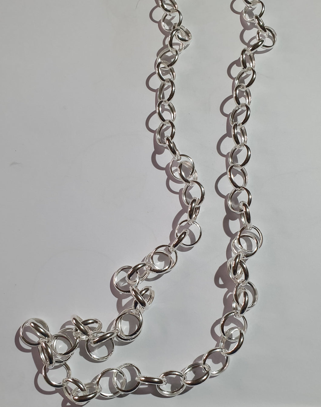 Long belcher chain with a signoretti clasp