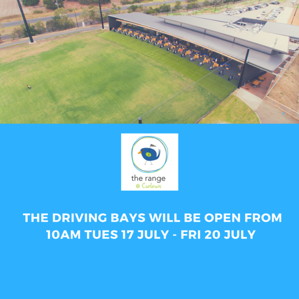 Driving Bays Will be Open from 10am, Tuesday 17 July - Friday 20 July