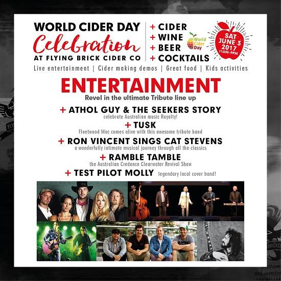 World Cider Day - Saturday June 3