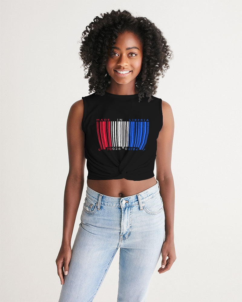 made in liberia Women's Twist-Front Tank