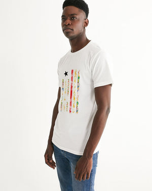 Liberian flag Men's Graphic Tee