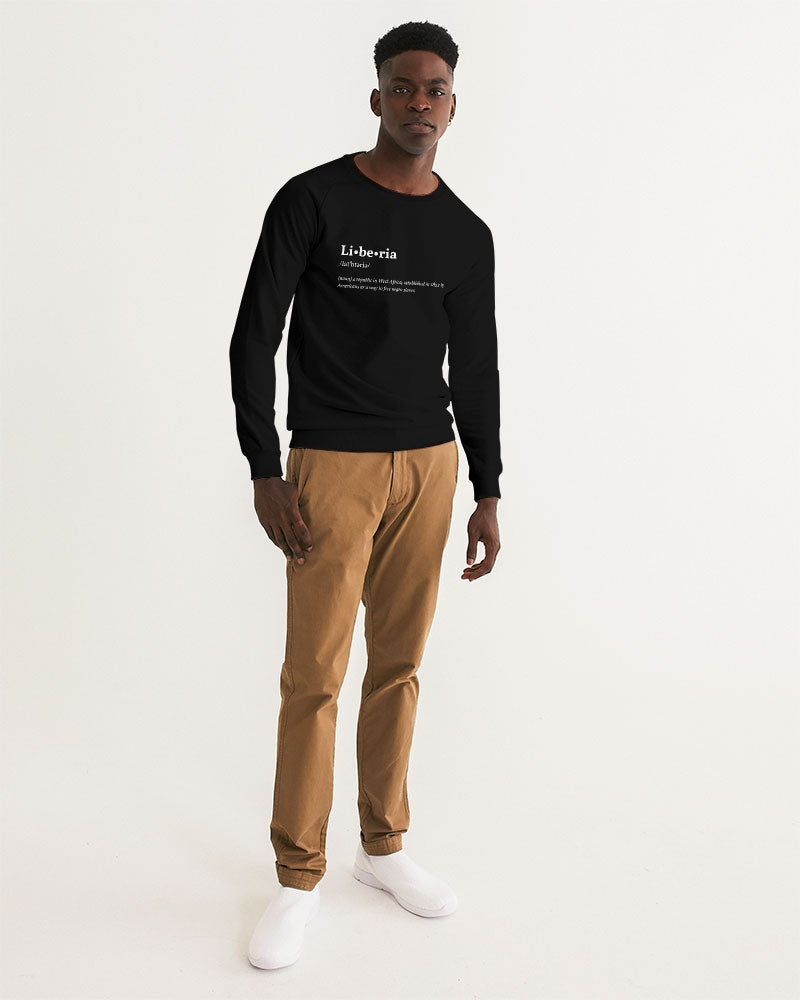 def liberia Men's Graphic Sweatshirt