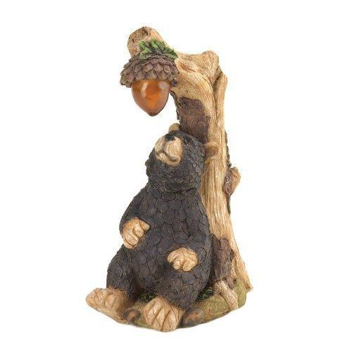 Black Bear Solar Statue (pack of 1 EA)