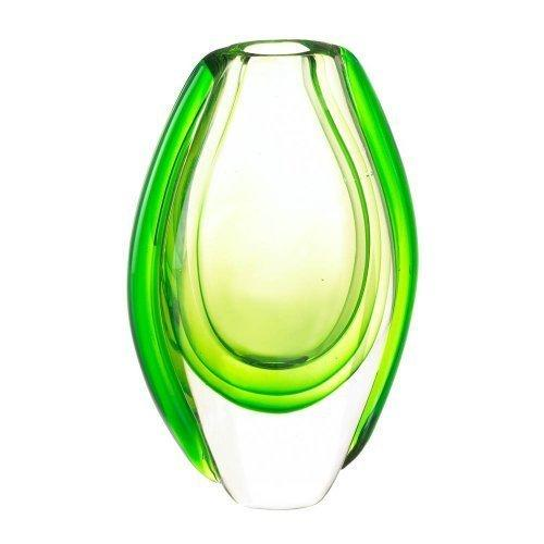 Emerald Art Glass Vase (pack of 1 EA)