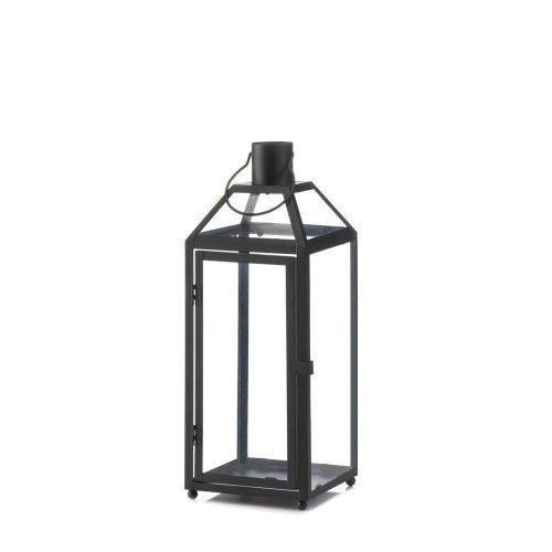 Midtown Medium Black Lantern (pack of 1 EA)