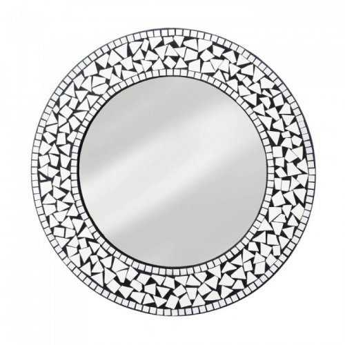 Round Mosaic Wall Mirror (pack of 1 EA)