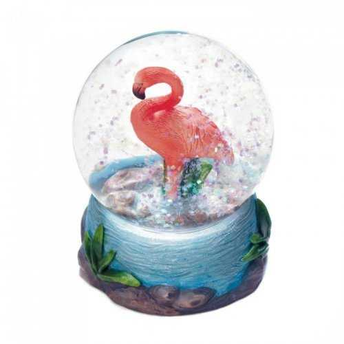 Flamingo Mini Snow Globe (pack of 1 EA)