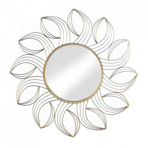 Golden Petals Wall Mirror (pack of 1 EA)