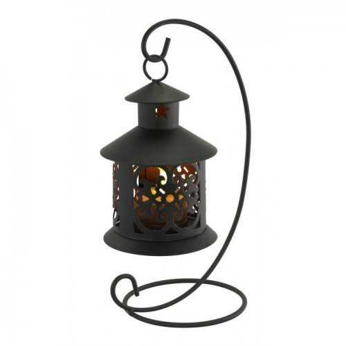 Flameless Led Tealight Hanging Lantern (pack of 1 EA)