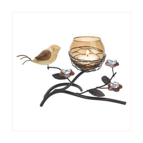 Partridge Nest Tealight Holder (pack of 1 EA)