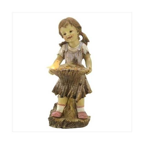 Sweet Summertime Solar Statue (pack of 1 EA)