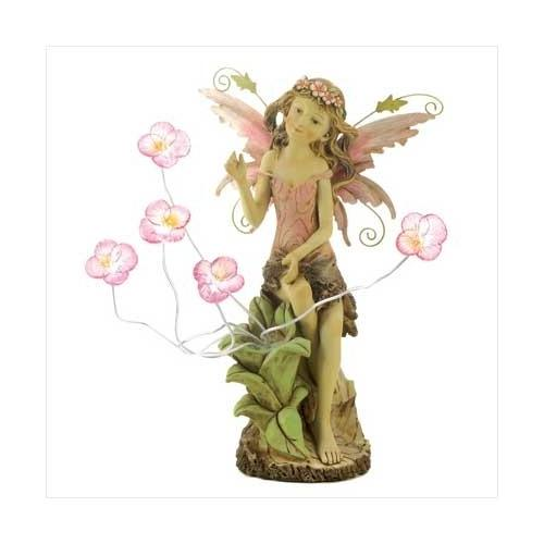 Peony Fairy Solar Statue (pack of 1 EA)