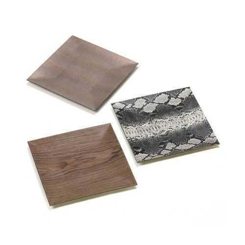 Decorative Square Plates (pack of 1 SET)
