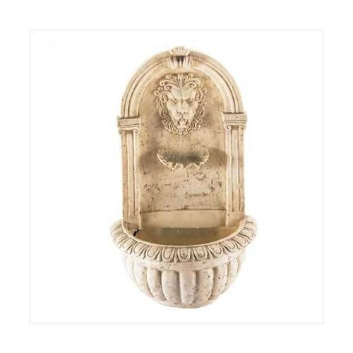 Lion Head Wall Fountain (pack of 1 EA)