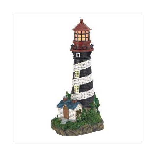 Solar-powered Lighthouse (pack of 1 EA)