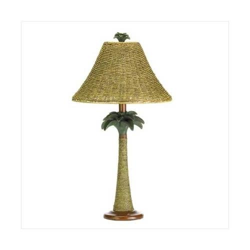Palm Tree Rattan Lamp (pack of 1 EA)