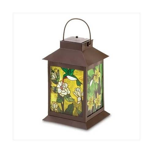 Solar-powered Floral Lantern (pack of 1 EA)