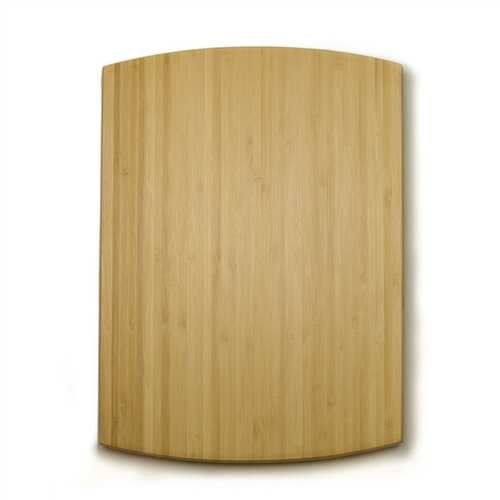Bamboo Cutting Board with Gripper Soft Rubber Feet