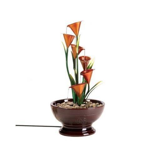 Calla Lily Water Fountain (pack of 1 EA)