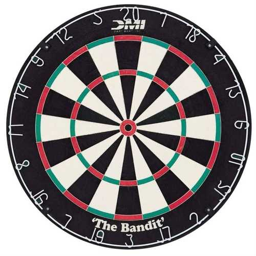 Staple-Free Sisal Fiber Dartboard - World Cup Quality