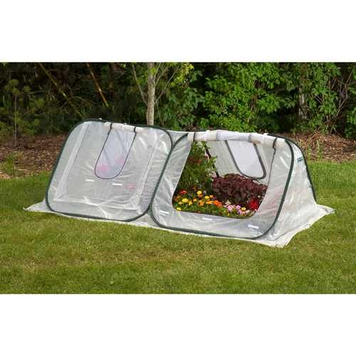 Flower Starter-House Low-Tunnel Cold-Frame Style Greenhouse