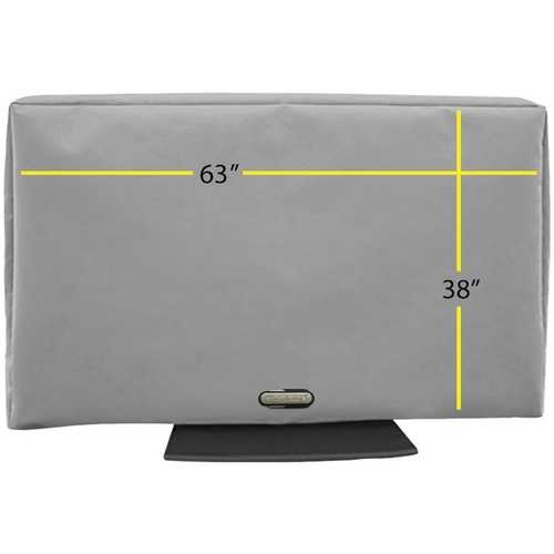 "Solaire SOL 70G Outdoor TV Cover (63""-70"")"