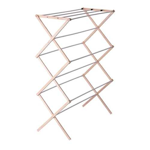 Folding Wood Cloths Laundry Drying Rack