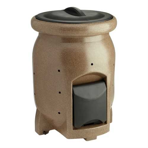 50-Gallon Compost Bin Composter with Compost Tea Collection Area