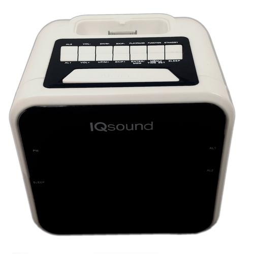 Supersonic 1.2 Display Alarm Clock/Radio for iPod and iPhone