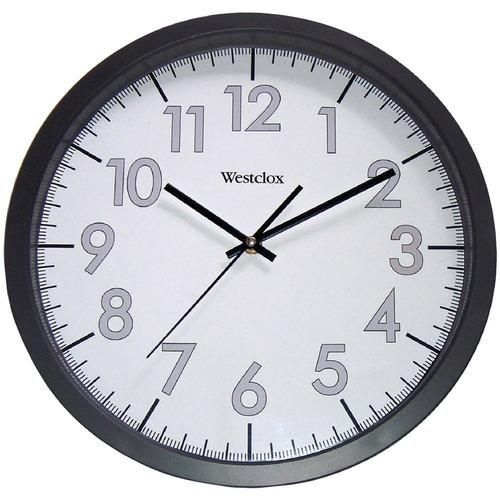 Westclox 32067 14 Round Office Wall Clock