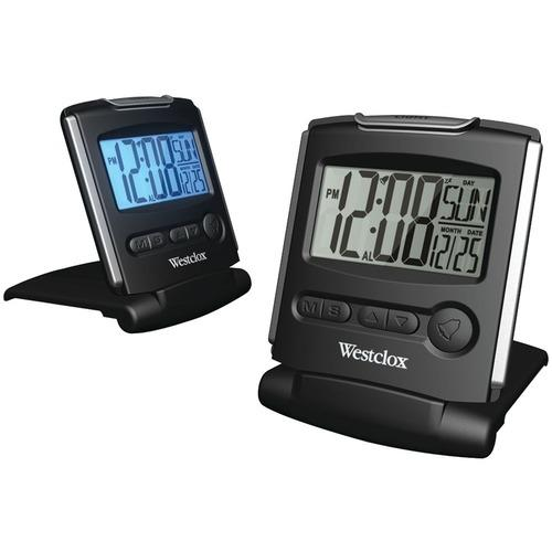 Westclox 72028 Fold-up Travel Alarm Clock