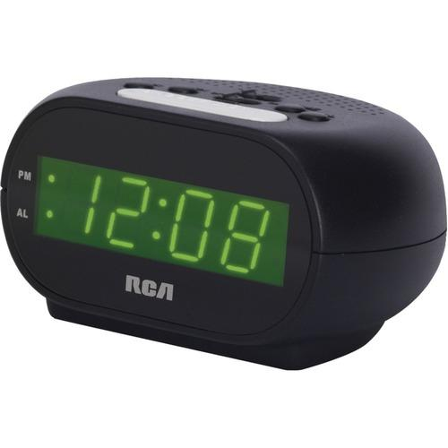 RCA RCD20 Alarm Clock with .7 Green Display
