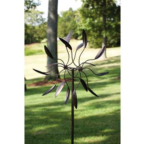 Spinning Metal Outdoor Garden Art Wind Spinner