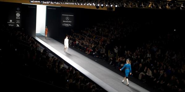 We got on the catwalk of the Madrid Fashion Week