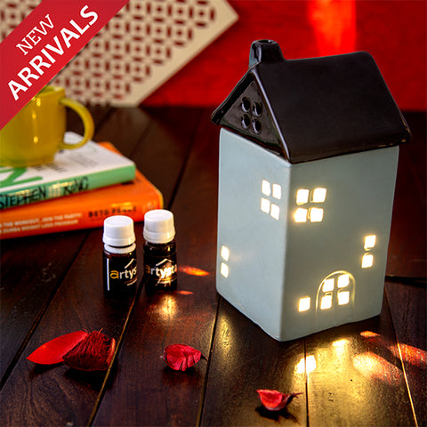 Hut Shaped Electric Aroma Diffuser Essential Oil Burner