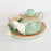 Ceramic Teapot Kettle With Two Cups And Tray - artystagallery