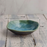 """Turquoise Dine"" Hand-glazed Set of 2 Ceramic Bowls - artystagallery"