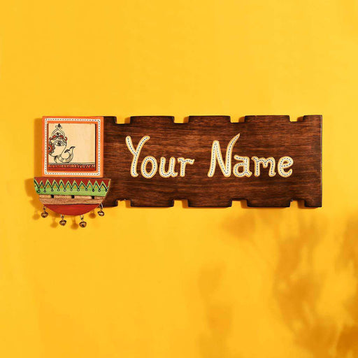 Wooden Creative Door Name Plates