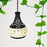 Dome Shaped Terracotta handmade Hand Painted Hanging Cum Pendant Lamp