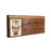 """Owl on Plank"" Hand Crafted Wooden Decorative Key Holder 