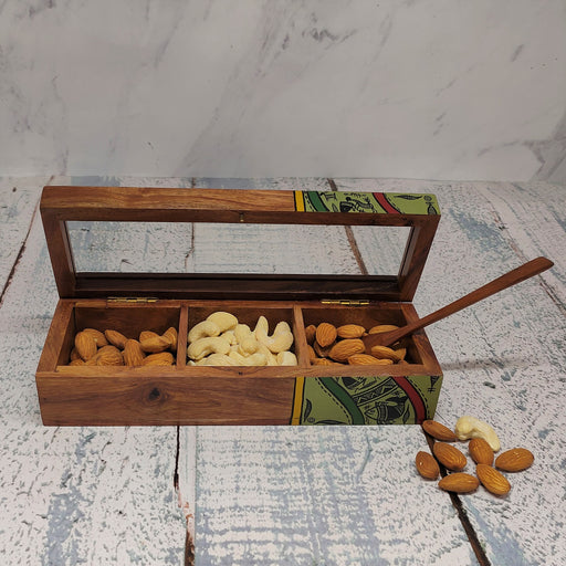 Wooden Dry Fruit Box - artystagallery