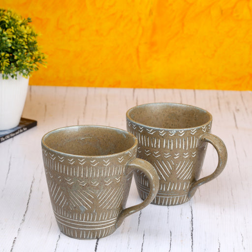 Set of 2 Ceramic Coffee Mug - artystagallery
