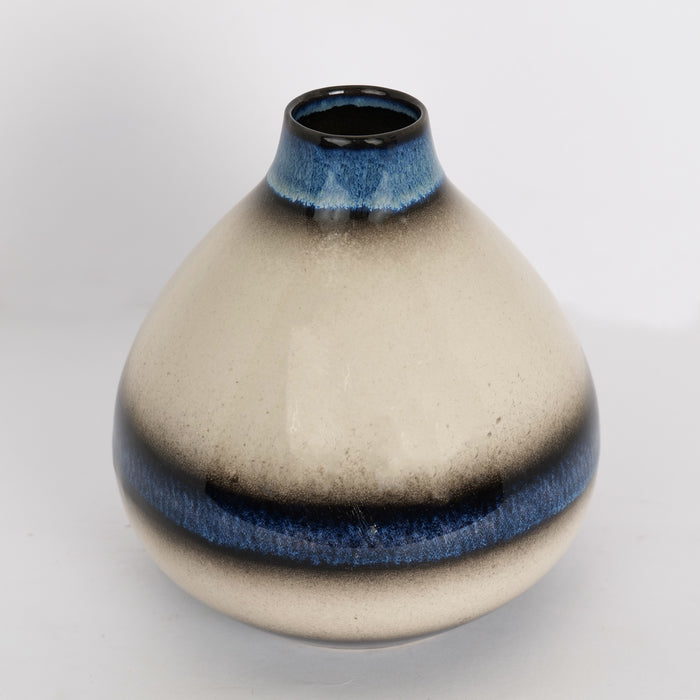 'Blue Sky' Ceramic Decorative Vase