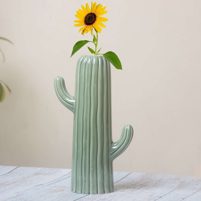 Cactus Flower Vases For Home Decor - artystagallery