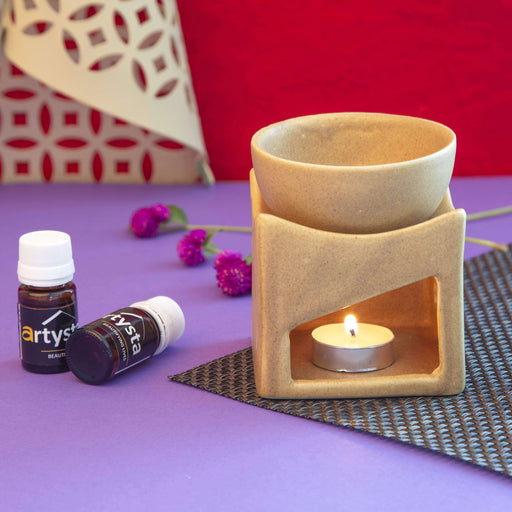 Ceramic Aromatherapy Essential Oil Diffuser With 2 Fragrance - artystagallery