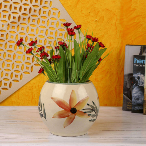 Ceramic Indoor Painted Egg Planter | Handmade Pot Planter For Home - artystagallery